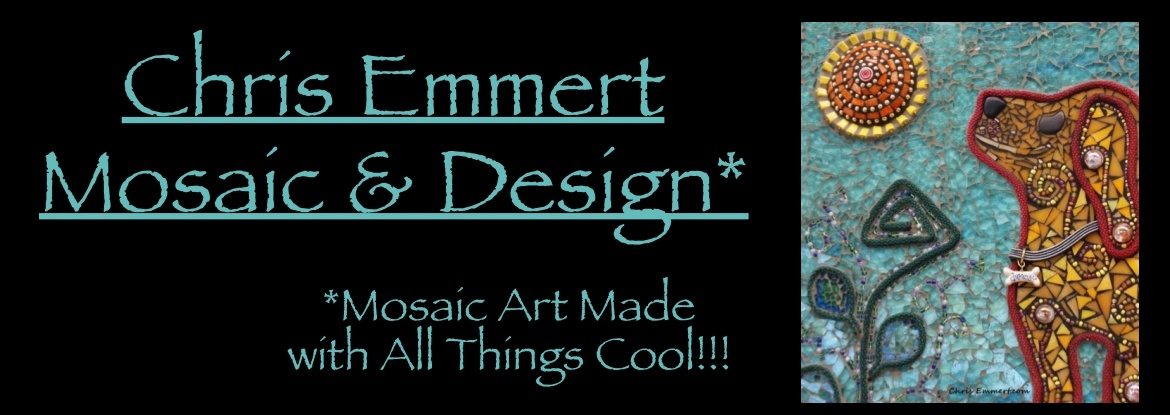 Chris Emmert Mosaic & Design Banner