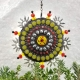sun, garden, mosaic wind spinner.  Chris Emmert mosaic and design.