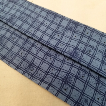 Face Mask In Denim Blue, Latex Free, Filter Pocket, Nose Clip, Washable, MADE IN USA