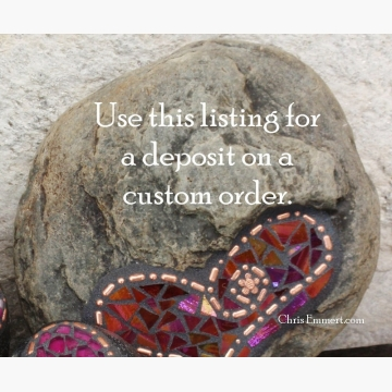 Use this listing for a Deposit on a Custom Order
