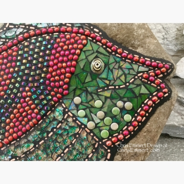 Big Fish / Porch Decor, Garden stone