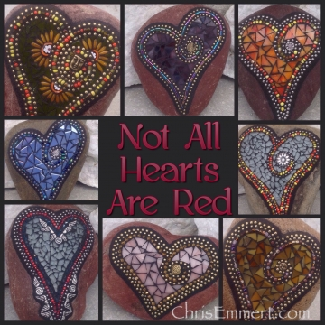 Not all hearts are red...